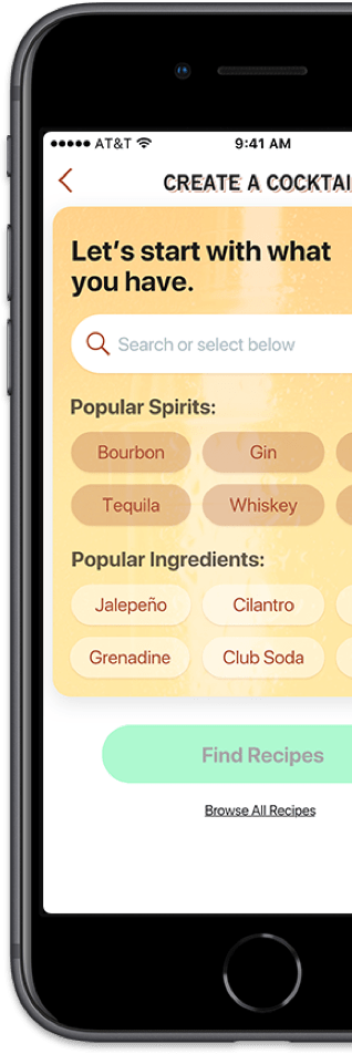 Create a Cocktail App