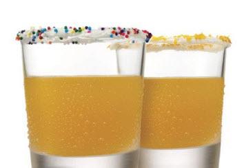 Cream Pop Cake Shots