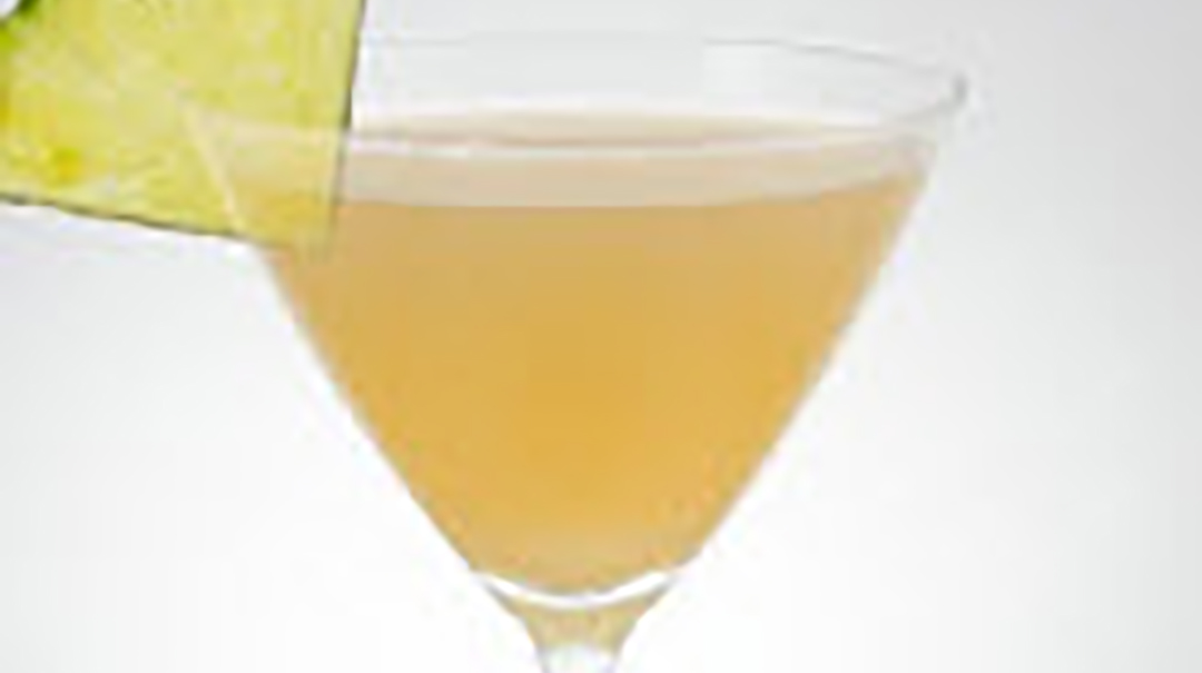 "Hendrick's Lemon Cinnamon Pineapple ""Scottish Fall"" Martini"