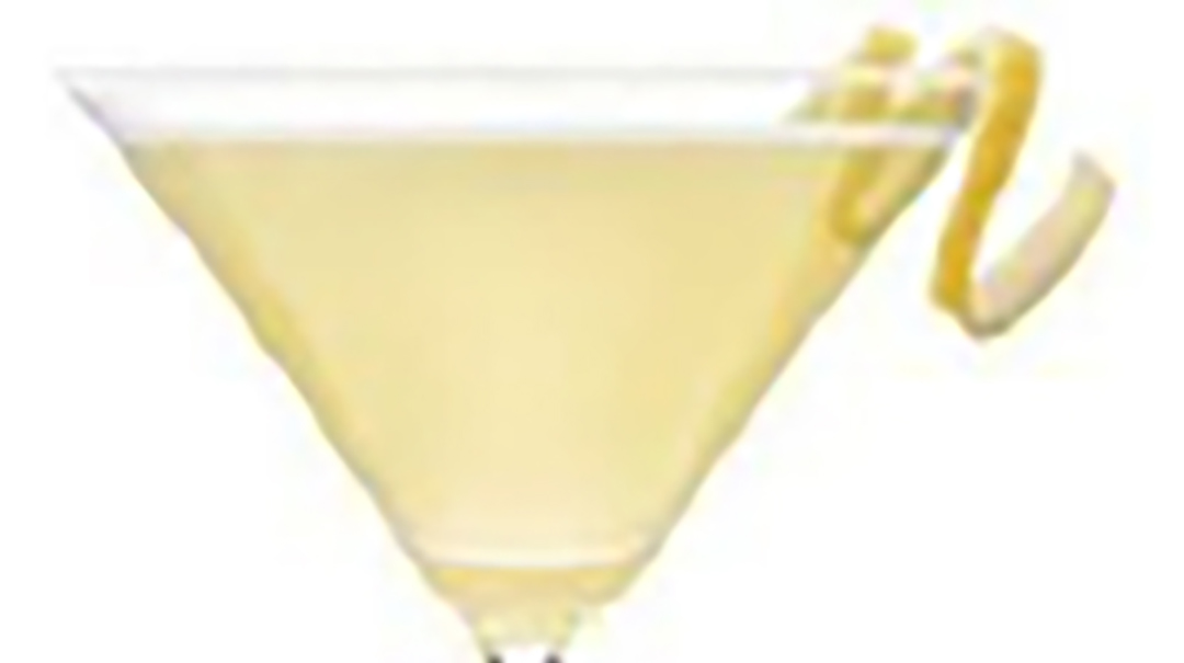 "Reyka Ginger ""Pacific Ocean Drop"" Martini"