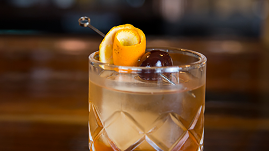 Sapphire Salted Caramel Old Fashioned