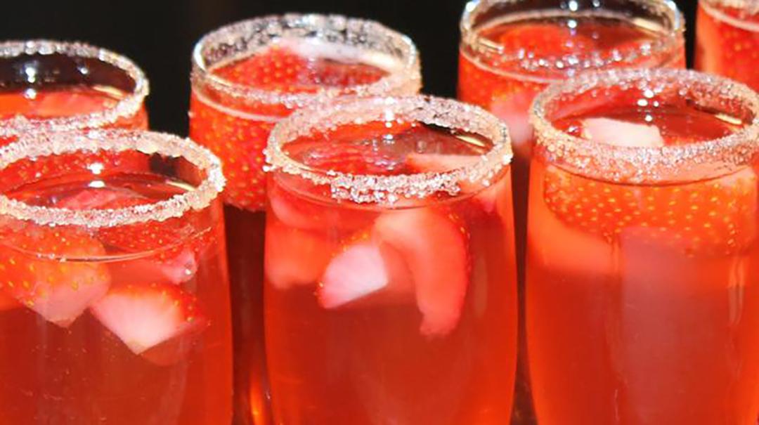 Sauza Strawberry Sparkler