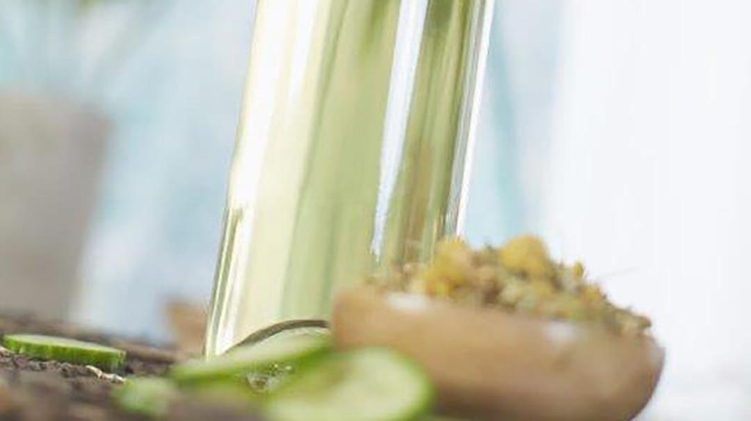 DIY Cucumber Chamamile Liqueur