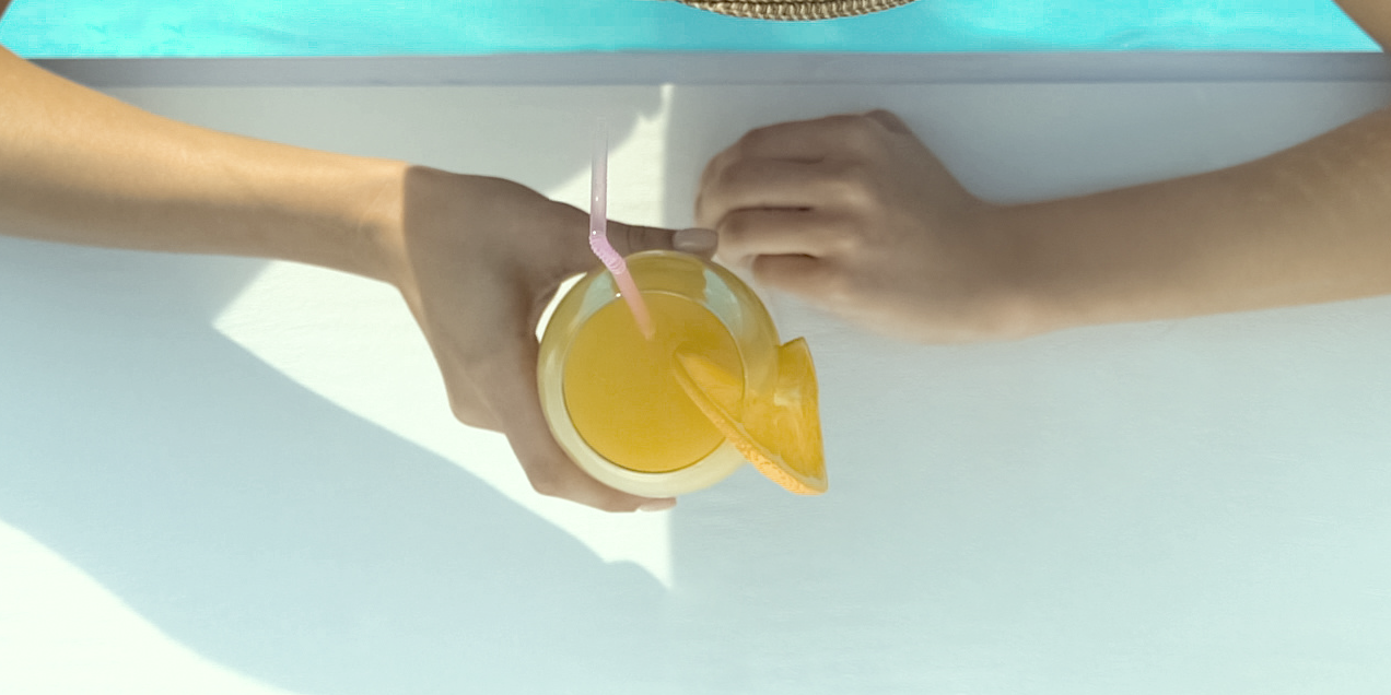 Big Little Lies-inspired mimosa