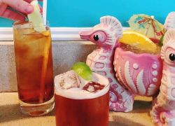 Tiki Drinks at Eventide in Portland, ME
