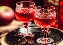 Modern Jack Rose Cocktail