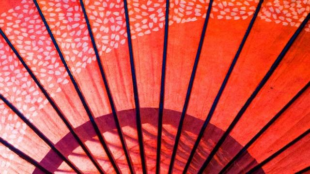 japanese paper umbrella