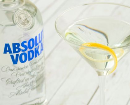 Absolut Dry Martini