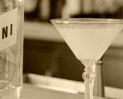 """""""The Dirigo"""" mixed drink."""