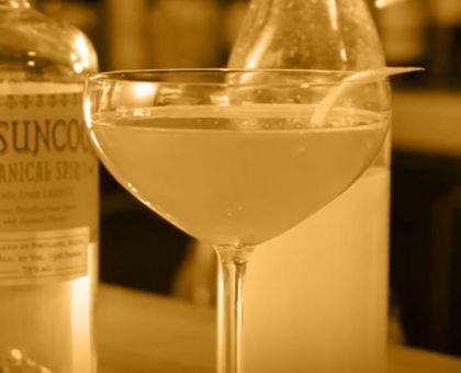 """The Hamlindigo"" mixed drink."