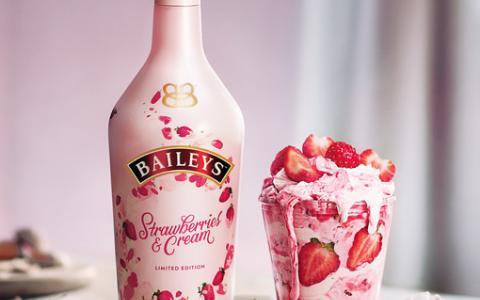 Baileys Strawberries & Cream Shortcake Jar