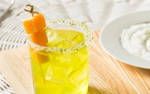 Cucumber Melon Margarita