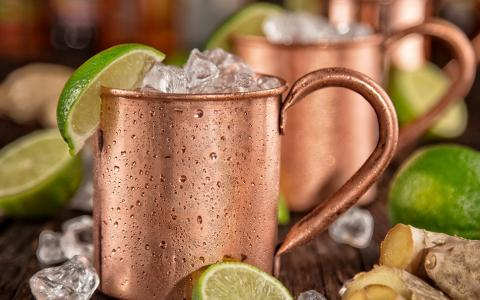 Ancho Reyes Ginger Lime Mule