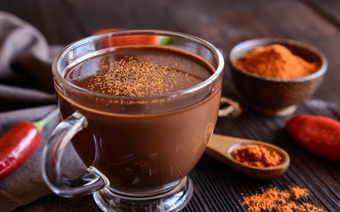 Ancho Reyes Hot Chocolate