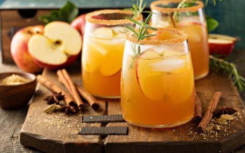Brown Sugar Bourbon Maple Cider