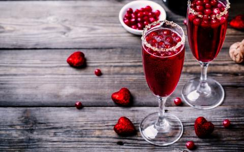 Ocean Cranberry Mocktail