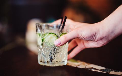 Renata's Cool Cucumber Cocktail