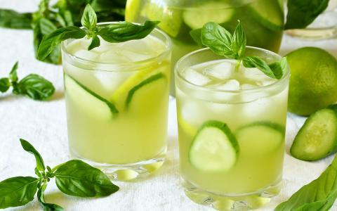 Summer Cucumber Mocktail