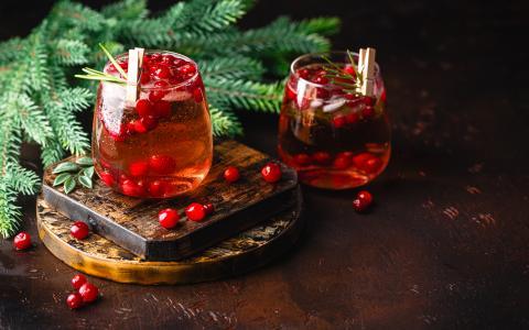 Cranberry Sauce Bourbon Cocktail