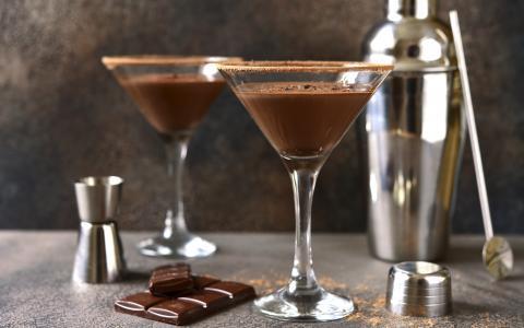 Nutella Raspberry Martini