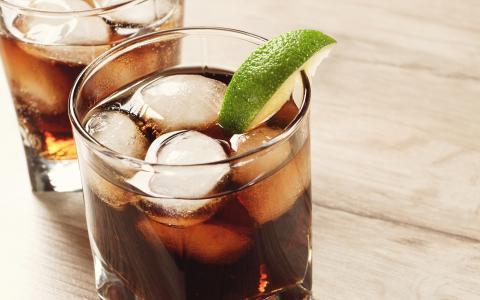 Summer Cola Mocktail