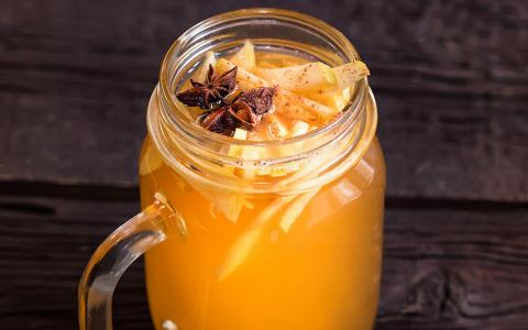 The Amber Orchard (batch drink)