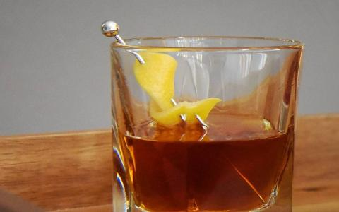 Brown Sugar Manhattan