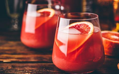Blood Orange Bourbon