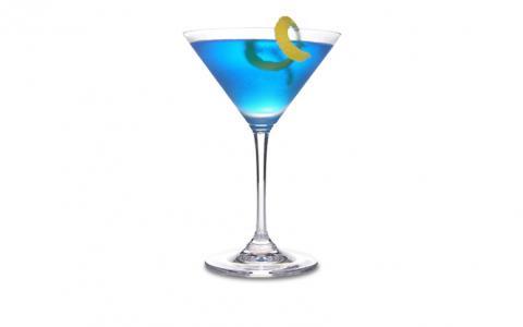 Blue River Martini