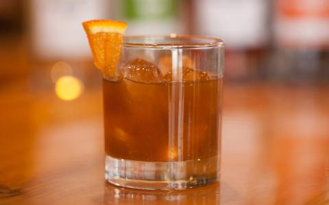 Bourbon Spicy Old Fashioned