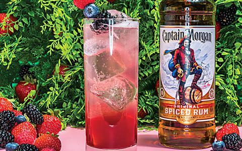 Captain Morgan Original Backyard Fizz