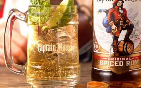 Captain Morgan and Ginger