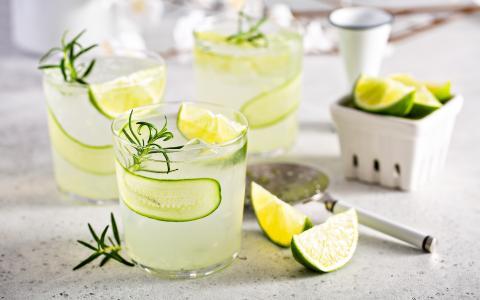 Cucumber Rosemary Limeade