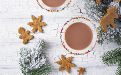 Holiday Gingerbread Martini