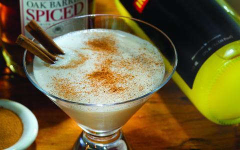Barrow's Gingerbread Martini