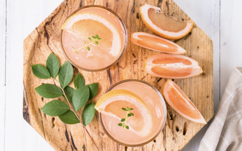 Grapefruit and Etsu Gin