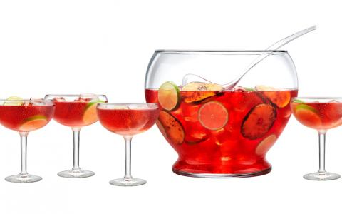 Spirited Cranberry Vodka Punch