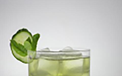 Hendrick's Green Tea Cucumber Collins