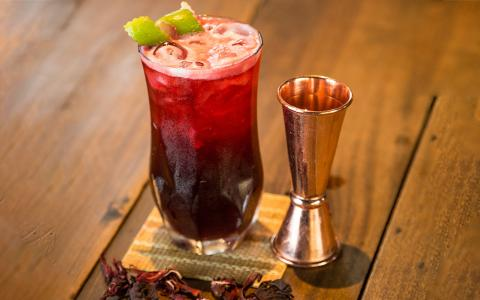Hibiscus Mocktail