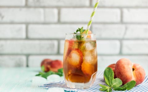 Jim Beam's Peach Ice Tea