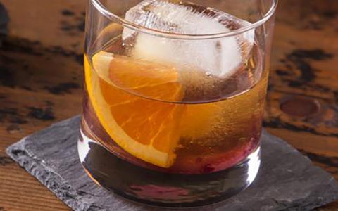 Peach Old Fashioned