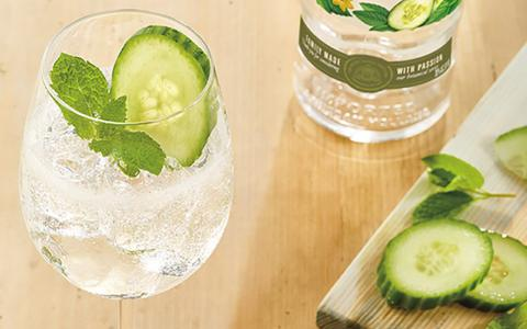 Ketel One Cucumber Mint & Soda