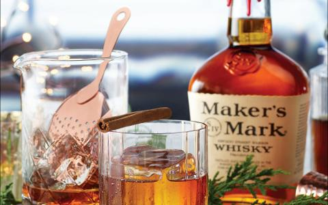 Maker's Mark Maple Old Fashioned