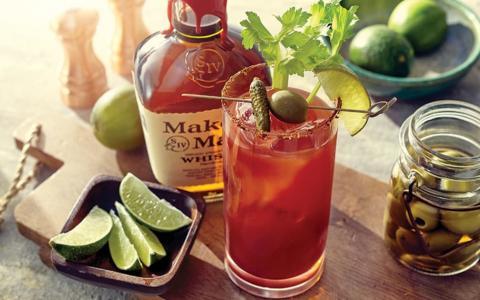 Bourbon Bloody Mary