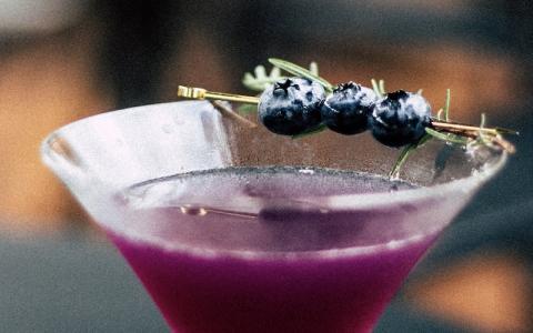 Metcalfe's Blueberry Martini