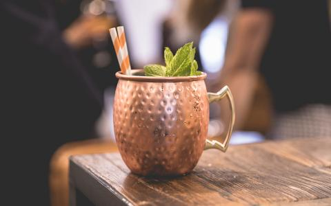 Mango Mule (Mocktail)