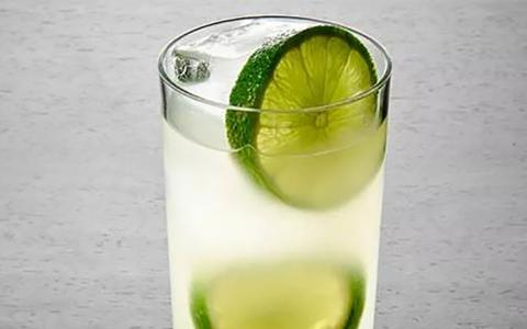 Mint Basil Limeade (Mocktail)