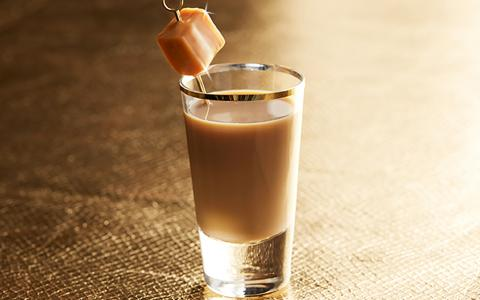 Caramel Pecan Pie Shot