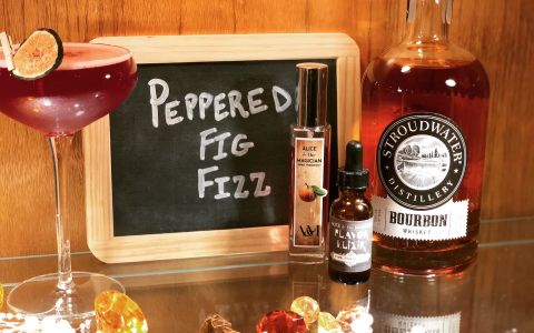 Peppered Fig Fizz
