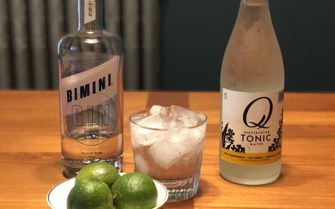 Bimini Gin and Q Tonic